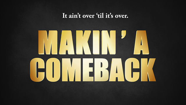 Minor setback for a major comeback!!! |